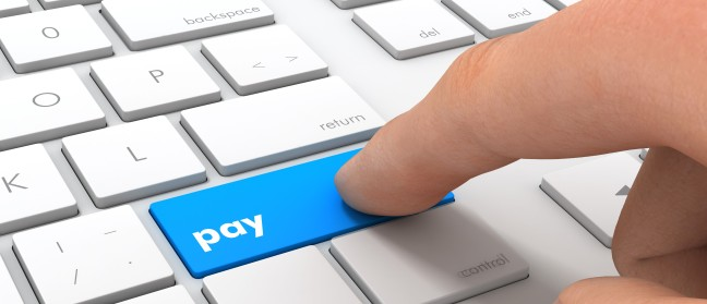 Online Payments Renting Storage